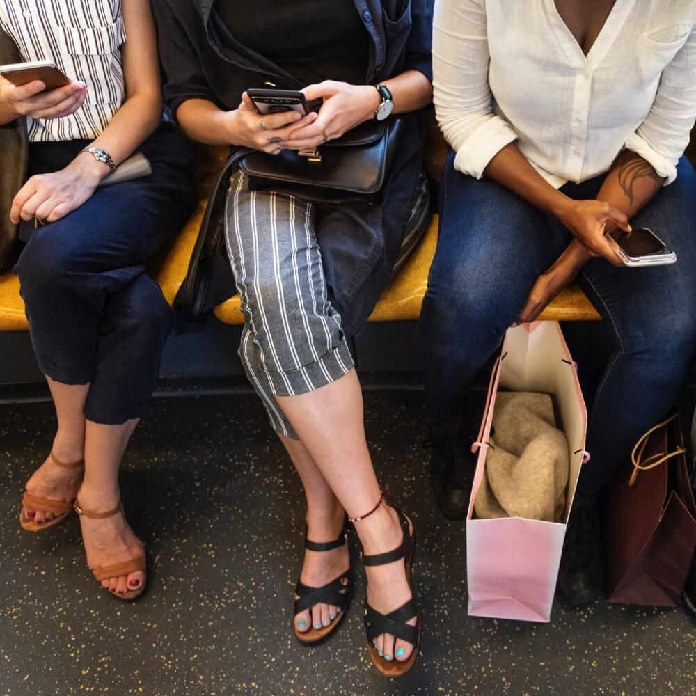 Meditación guiada en el metro: no se requiere cojín